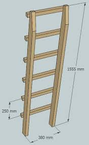 Onelegged Bunk Bed  Steps With Pictures - Ladder for bunk bed