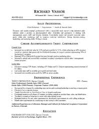 Example Resume  Sales Objective For Resume  sales objective for         Example Resume  Good Sales Objective For Resume With Professional Experience And Education Also Sales Professional