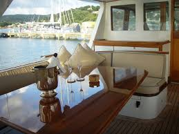 luxury yacht charter lili sun deck dinning tim heywood and amels