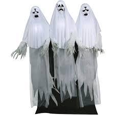 haunting ghost trio animated halloween decoration walmart com