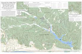 Ohio State Parks Map Athens Area Outdoor Recreation Guide Strouds Run State Park