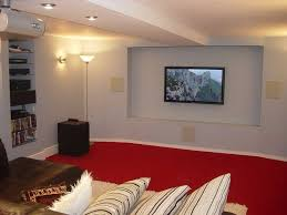 Black Ceiling Basement by Basement Ceiling Options With Red Carpet Home Basement