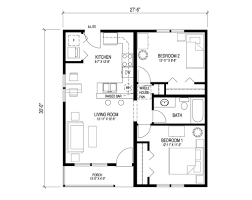 2 bedroom house design 1950s house plans