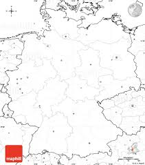 Map Germany by Blank Simple Map Of Germany No Labels