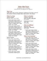 More FREE Resume Templates   Primer Primer Magazine Resume