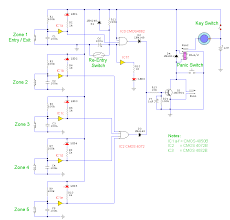home theater circuit diagram home security system wiring diagram and build a 5 zone alarm