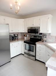 Painted Kitchen Floor Ideas Livelovediy How To Paint Tile Countertops