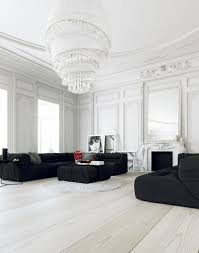 White Furniture For Living Room 30 Black U0026 White Living Rooms That Work Their Monochrome Magic