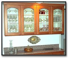 Kitchen Cabinet Glass Cabinet Doors With Glass Inserts Monsterlune