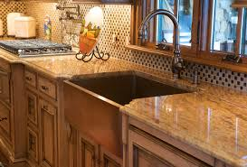 kitchen wonderful copper farmhouse sink ideas with brown single