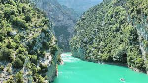Map Of South Of France by Verdon Gorge Gorges Du Verdon Grand Canyon Du Verdon South