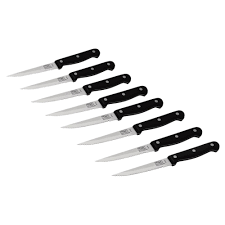 Chicago Cutlery Kitchen Knives by Chicago Cutlery 4 25 In Steak Knife 8 Pack 1121951 The Home Depot