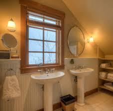 marvelous pedestal sink decorating ideas for bathroom farmhouse