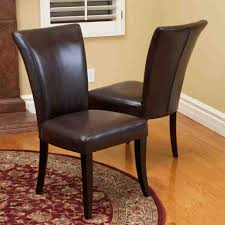 terrific leather dining room chairs picture of storage modern