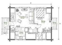 A Frame Cabin Floor Plans With Loft Studio Garage Log Homes Floor Plan