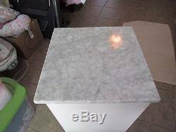Pottery Barn Bathroom Storage by Barn Marble Top Sundry Tower Cabinet Bath Storage Cabinet White