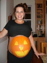 Funny Pregnant Halloween Costume Pregnant Halloween Costumes Painted Bellies