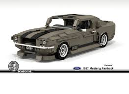 1967 Ford Mustang Black Lego Ideas 1967 Ford Mustang Shelby Gt500 Fastback Ealanor