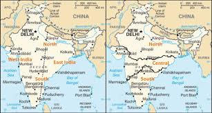 Pakistan On The Map South Asia