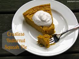 dessert recipes for thanksgiving dinner crustless butternut squash pie u2013 paleo in pdx
