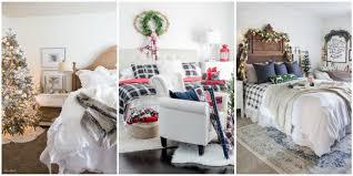 christmas bedroom decorating ideas farmhouse christmas decorations