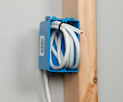 wall mounted cable management system in wall wiring guide for home a v