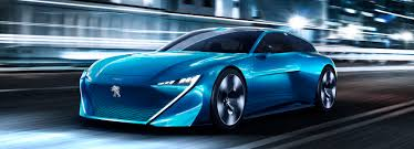 peugeot electric car instinct electric self driving concept car