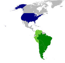 Latin America Political Map by Operation Condor Wikipedia