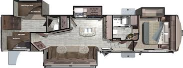 Fifth Wheel Bunkhouse Floor Plans Awesome 3 Bedroom Fifth Wheel Photos Rugoingmyway Us