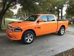 Dodge Ram 93 - my brothers 2015 ram sport in ignition orange automotive world
