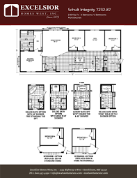 schult integrity 7232 87 excelsior homes west inc