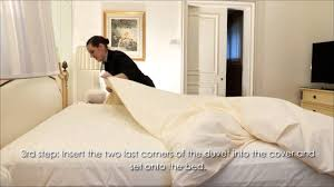 four seasons hotel george v paris professional bed making and