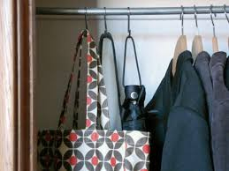 Space Saving Closet Ideas With A Dressing Table Tips For Organizing A Small Reach In Closet Hgtv U0027s Decorating