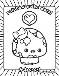 kawaii coloring pages download print free