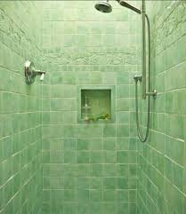 fresh green shower room with green wall tiles dweef com bright