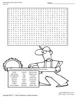 woodworking word search puzzle