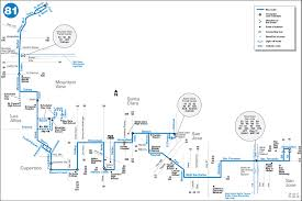 Amtrak Capitol Corridor Map by 81 Gif