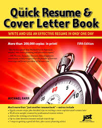 how to mail a resume and cover letter quick resume cover letter book write and use an effective quick resume cover letter book write and use an effective resume in just one day quick resume and cover letter book michael farr jist editors