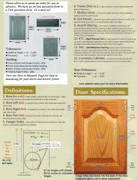 How To Install Kitchen Cabinets by Measuring U0026 Installing Your Cabinet Doors Eclectic Ware