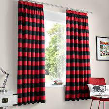 nice red and black bedroom curtains 18 remodel home decorating