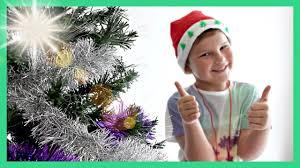 kids christmas tree decorating peppa pig frozen disney