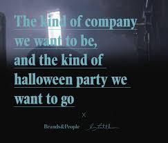 brands u0026people u2014 b u0026p u2014 halloween party