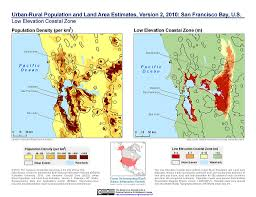 Population Density Map United States by Maps Low Elevation Coastal Zone Lecz Sedac