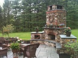 garden fireplace design stunning home decor with outdoor designs
