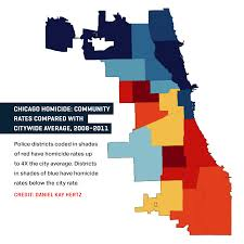 North Shore Chicago Map by Gunfire Is Reversing The Great Migration In Chicago