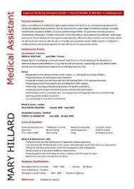 Resume Best Practices Samples Medical Assistant Resume Samples Dayjob