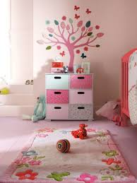 Rug For Baby Room Baby Room With Floral Rug Ideas For Kids Room Also Tree Wall