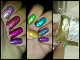 holographic glitter dust for nail art haul youtube