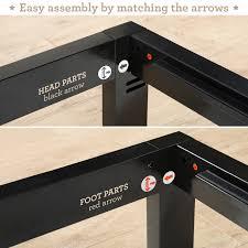 Mattress Foundation King Zinus Modern Studio Platform 1000 Metal Bed Frame Mattress