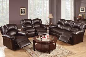 mesmerizing reclining living room sets for home u2013 leather